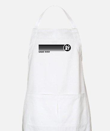 Game Over Wedding BBQ Apron