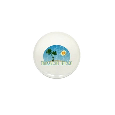 Beach Bum Mini Button (100 pack)