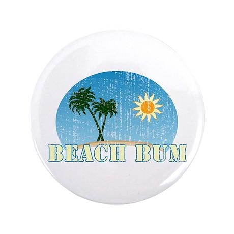 """Beach Bum 3.5"""" Button (100 pack)"""