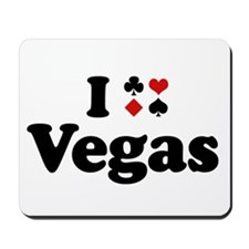 I Love Vegas Mousepad