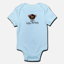 Gigi's Little Monkey Girl Infant Bodysuit