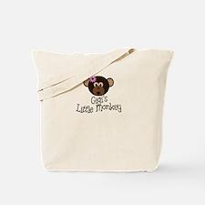 Gigi's Little Monkey Girl Tote Bag
