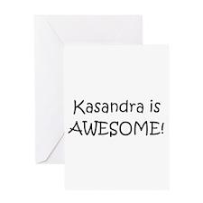 Cool Kasandra Greeting Card