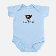 Gigi's Little Monkey Boy Infant Bodysuit