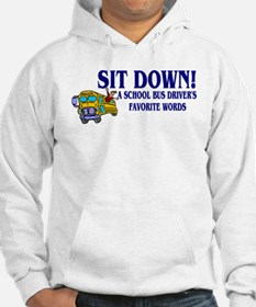A Bus Drivers Favorite Words Jumper Hoody