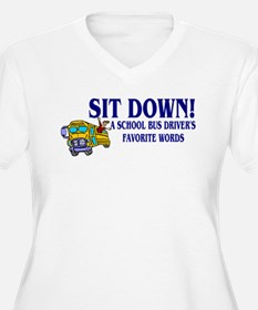 A Bus Drivers Favorite Words T-Shirt