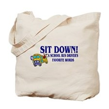 A Bus Drivers Favorite Words Tote Bag
