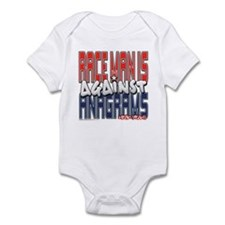 Race Man Is Against Anagrams Infant Bodysuit