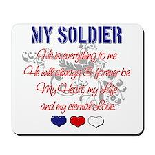 My Soldier - My Eternal Love Mousepad