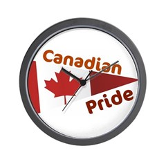 Canadian Pride Wall Clock