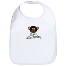 Gran's Little Monkey Boy Bib