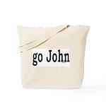 go John Tote Bag