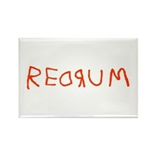 Redrum Rectangle Magnet