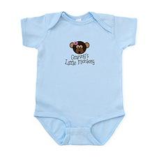 Granny's Little Monkey Girl Infant Bodysuit