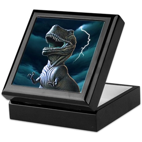 T-rex 3 Keepsake Box