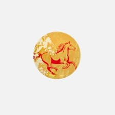 Mystic Garden Horse Mini Button
