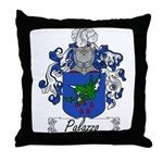 Palazzo Family Crest Throw Pillow