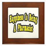 Pharmacy happiness Framed Tiles