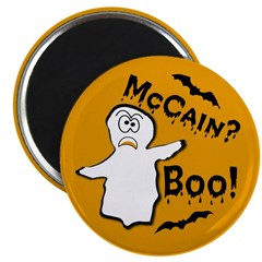 "McCain? Boo! Halloween 2.25"" Magnet (10 pack)"