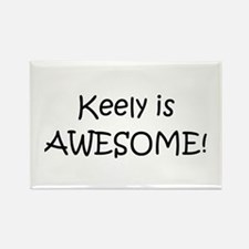 Cute Keely Rectangle Magnet