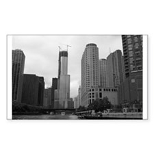 Trump Tower Rectangle Decal