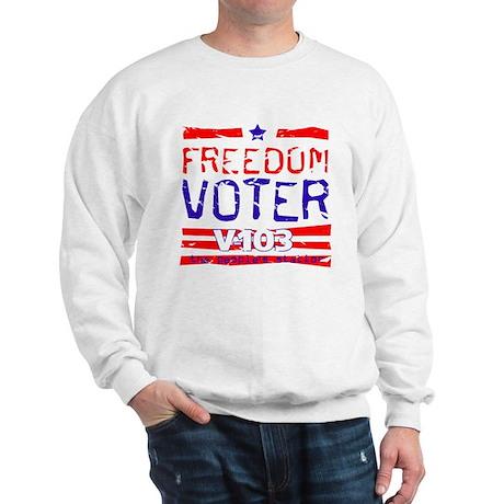Freedom Voter Sweatshirt