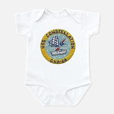 USS CONSTELLATION Infant Bodysuit