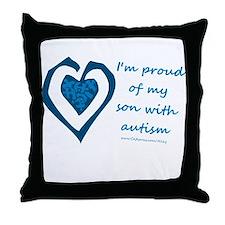 Son w/ Autism Throw Pillow