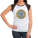 USS CONSTELLATION Women's Cap Sleeve T-Shirt