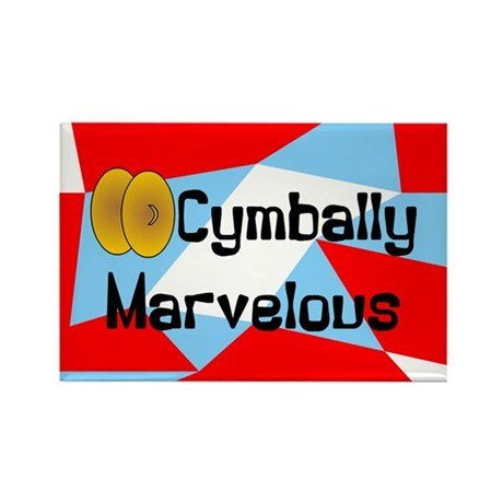 Cymbally Marvelous Rectangle Magnet (100 pack)