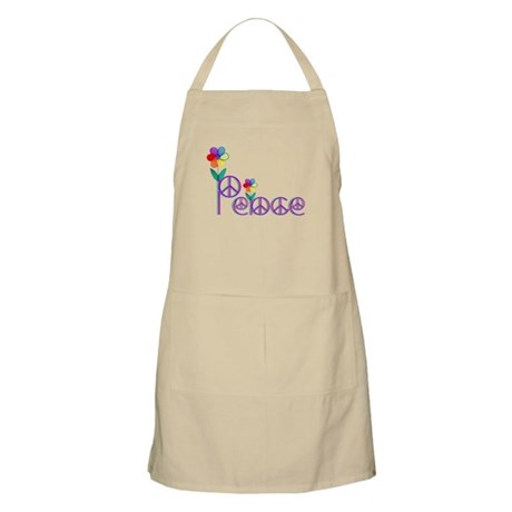 Primary Peace BBQ Apron