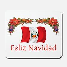 Peru Feliz Navidad 2 Mousepad