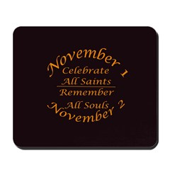 All Saints, All Souls Mousepad