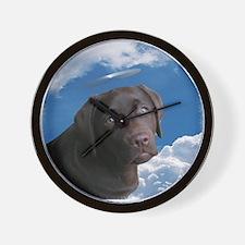 Angel Pup??? Wall Clock