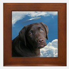 Angel Pup??? Framed Tile