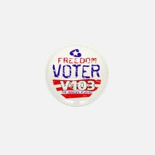 Freedom Voter Mini Button