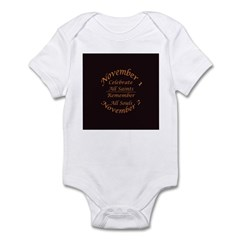 All Saints, All Souls Infant Bodysuit