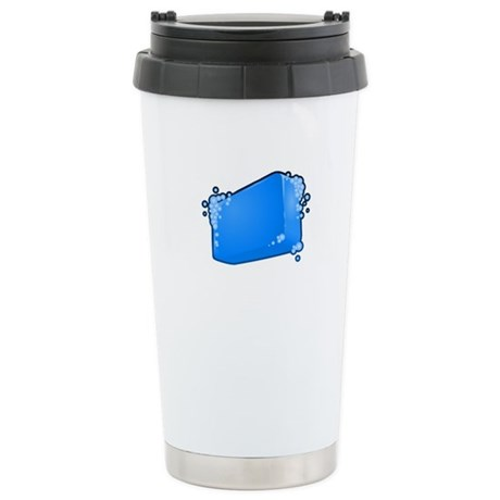 Soapy Stainless Steel Travel Mug