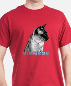 Siamese Sketch T-Shirt