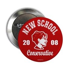 "New School Conservative 2.25"" Button (10 pack)"