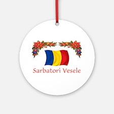 Romania Sarbatori... 2 Ornament (Round)