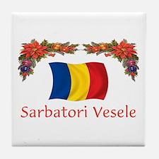 Romania Sarbatori... 2 Tile Coaster