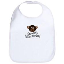 Grandad's Little Monkey Boy Bib