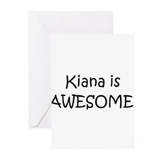 Cool Kiana Greeting Cards (Pk of 10)
