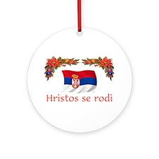 Serbia Hristos...2 Ornament (Round)