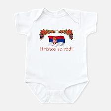 Serbia Hristos...2 Infant Bodysuit