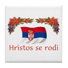 Serbia Hristos...2 Tile Coaster