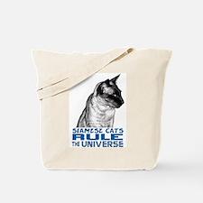 Siamese Universe Tote Bag