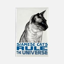 Siamese Universe Rectangle Magnet