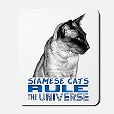 Siamese Universe Mousepad